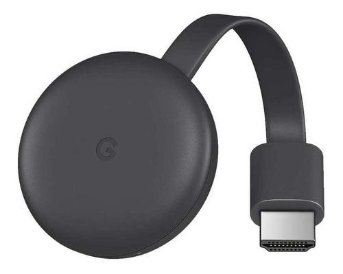 Google Chromecast 3rd Generation Full Hd Carvão