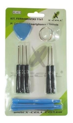 Kit Ferramentas 11x1 Celular, Smartphone, Tablet Relojoeiro