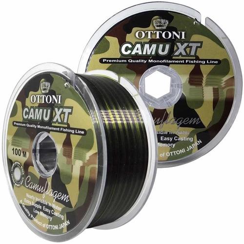 Linha Monofilamento Camu Xt 0,60mm - 100m - 43,5kg 96,0 Lbs