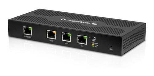 Roteador Ubiquiti Networks Edgerouter Lite Erlite-3 Preto