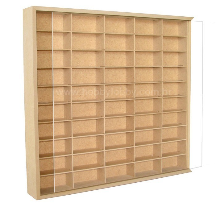 #50 DIECAST DISPLAY CASE - 1:64 [In Natura]  - Hobby Lobby CollectorStore