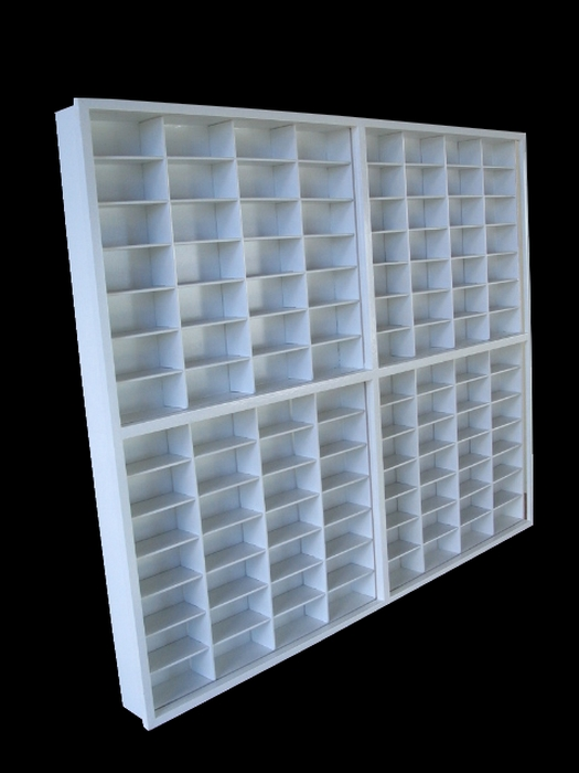 #112 DIECAST DISPLAY CASE - 1:64 [Branco]  - Hobby Lobby CollectorStore
