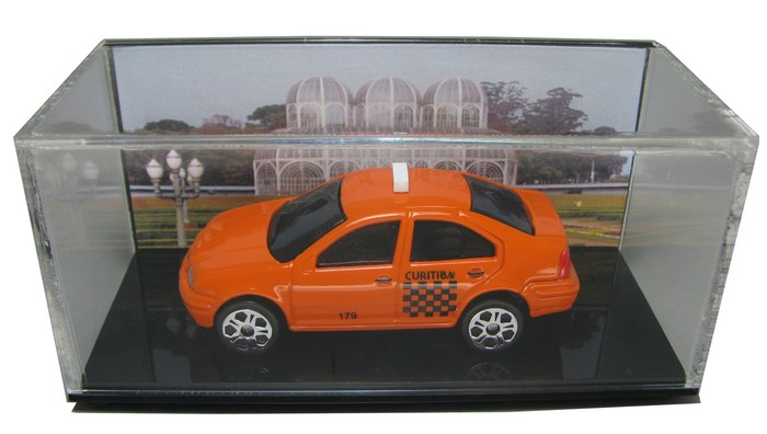 Miniatura Customizada - VW Bora Taxi de Curitiba