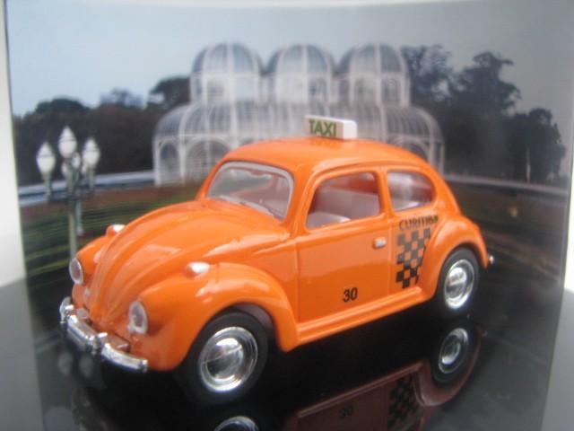 Miniatura customizada - Fusca Taxi de Curitiba