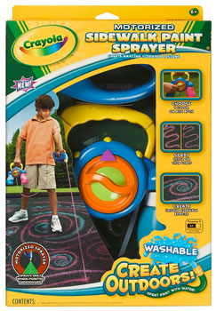 Crayola - Sidewalk Paint Sprayer - Hobby Lobby CollectorStore