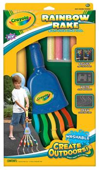 Crayola - Rainbow Rake