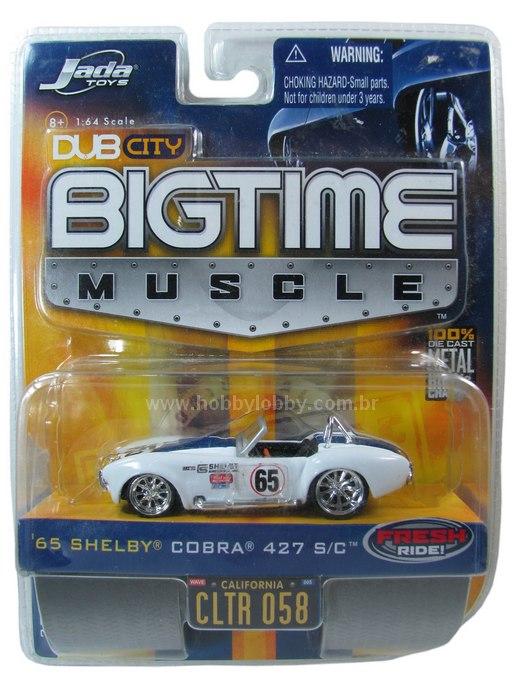 Jada Toys - ´65 Shelby Cobra 427 S/C  - Hobby Lobby CollectorStore