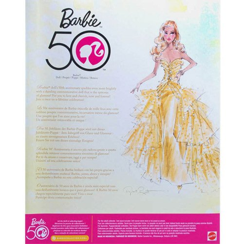 Barbie Collector - Comemorativa 50 anos - Hobby Lobby CollectorStore