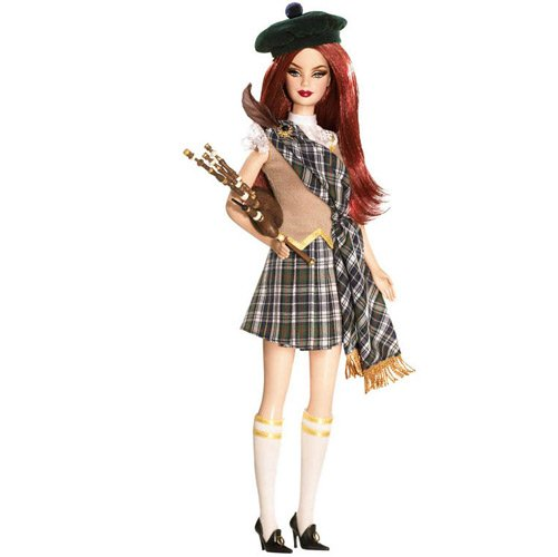 Barbie Collector - Dolls of the World - Scotland - Mattel - Hobby Lobby CollectorStore