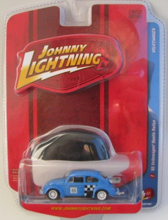Johnny Lightning - Volkswagen - 1965 VW Beetle Rallye  - Hobby Lobby CollectorStore