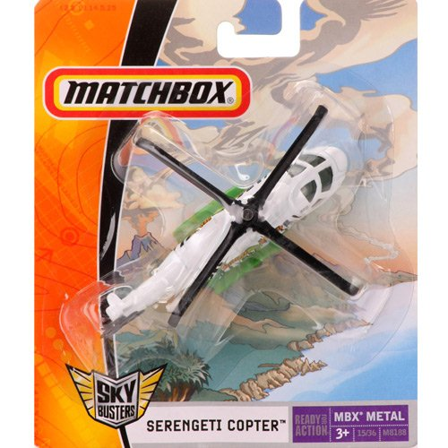 Matchbox - Sky Busters - SERENGETI COPTER