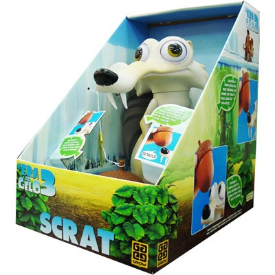 A Era do Gelo 3 - Scrat com Som  - Hobby Lobby CollectorStore