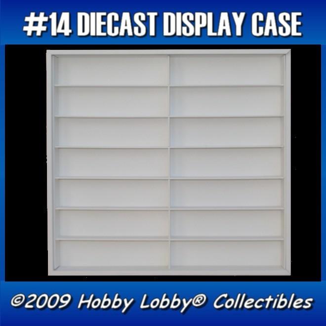 #14 CONVOY DIECAST DISPLAY CASE - 1:64 [Branco]  - Hobby Lobby CollectorStore