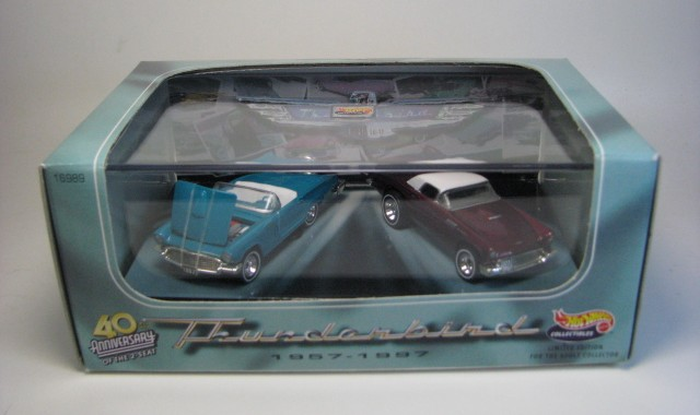 Hot Wheels 100% - Collector Set - 40th Anniversary of the Thunderbird  - Hobby Lobby CollectorStore
