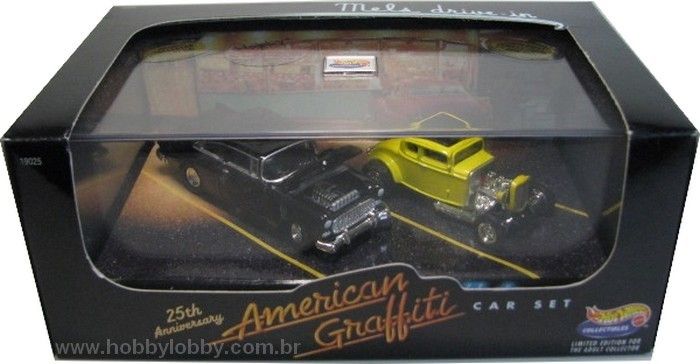 Hot Wheels 100% - Collector Set - American Graffiti