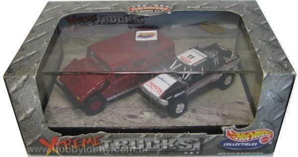Hot Wheels 100% - Collector Set - Xtreme Trucks