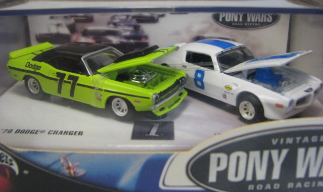 Hot Wheels 100% - Collector Set - Vintage Pony Wars I - Road Racing  - Hobby Lobby CollectorStore