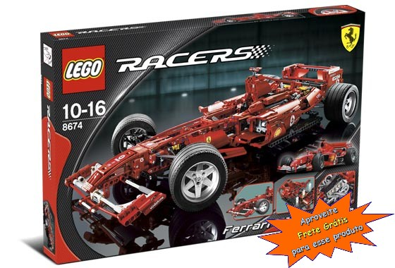 Lego Ferrari F1 Racer 1:8 - Ref.:7674  - Hobby Lobby CollectorStore
