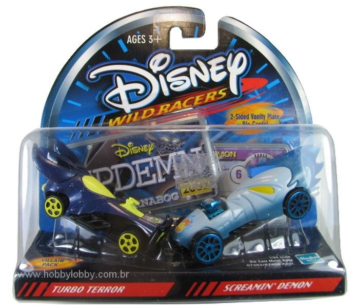 Disney Racers - TurboTerror vs Screamin´ Demon  - Hobby Lobby CollectorStore