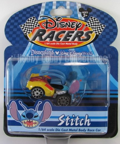Disney Racers - Stitch  - Hobby Lobby CollectorStore
