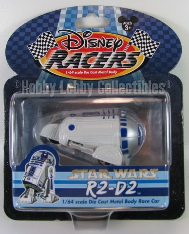 Disney Racers - Star Wars - R2-D2  - Hobby Lobby CollectorStore