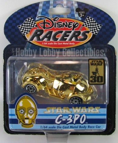 Disney Racers - Star Wars - 3-CPO  - Hobby Lobby CollectorStore