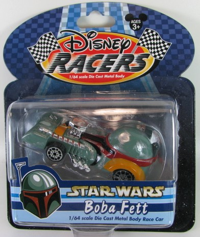 Disney Racers - StarWars - BobaFett  - Hobby Lobby CollectorStore