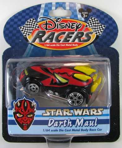 Disney Racers - Star Wars - Darth Maul  - Hobby Lobby CollectorStore