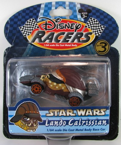 Disney Racers - Star Wars - Lando Calrissian  - Hobby Lobby CollectorStore