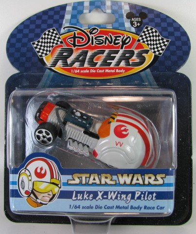 Disney Racers - Star Wars - Luke X-Wing Pilot  - Hobby Lobby CollectorStore