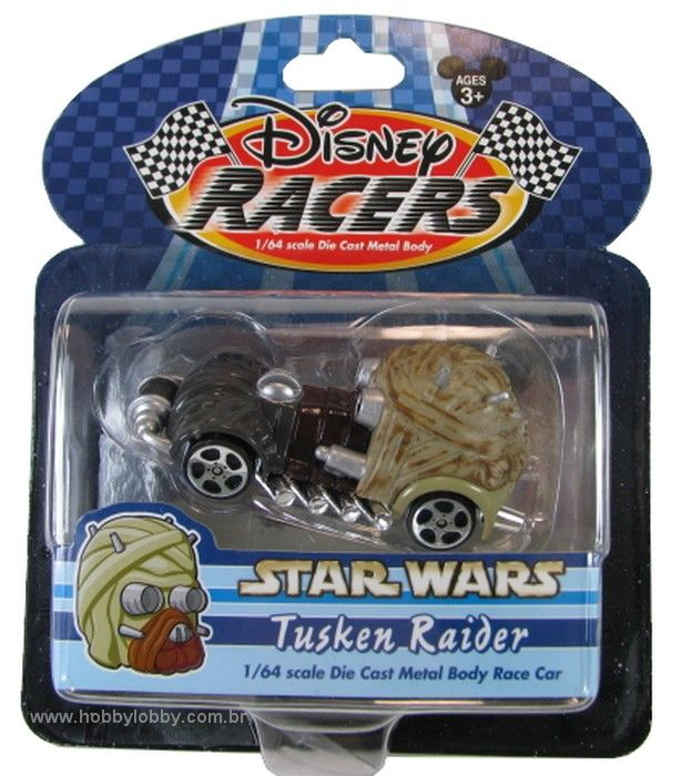 Disney Racers - Star Wars - Tusken Raider  - Hobby Lobby CollectorStore