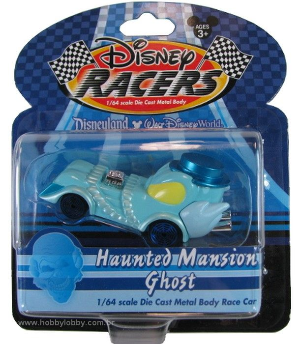 Disney Racers - Haunted Mansion Ghost  - Hobby Lobby CollectorStore