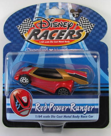 Disney Racers - Red Power Ranger  - Hobby Lobby CollectorStore