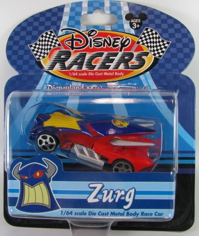 Disney Racers - Zurg  - Hobby Lobby CollectorStore