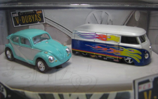 Hot Wheels 100% - Collector Set - California V-Dubyas  - Hobby Lobby CollectorStore