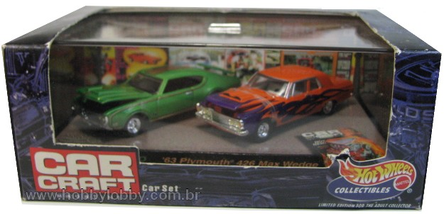 Hot Wheels 100% - Collector Set - Car Craft Magazine