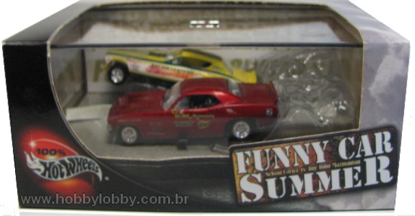 Hot Wheels 100% - Collector Set - Funny Car Summer