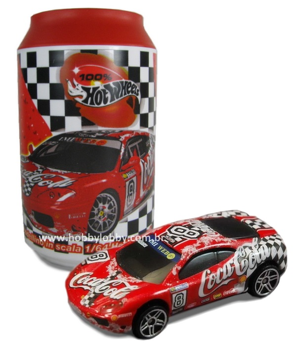 Hot Wheels - Coca Cola - 360 Ferrari Challenge