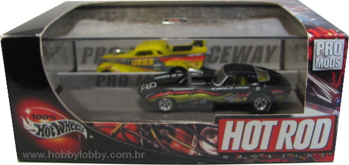 Hot Wheels 100% - Collector Set - Hot Rod Magazine - Pro-Mods