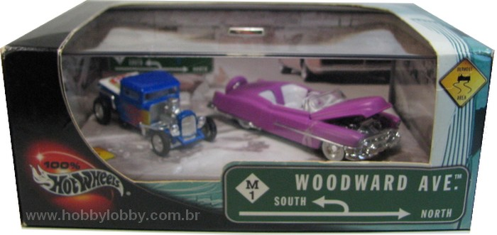 Hot Wheels 100% - Collector Set - Woodward Ave.