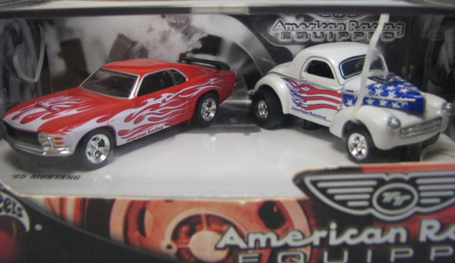 Hot Wheels 100% - Collector Set - American Racing Equipped  - Hobby Lobby CollectorStore