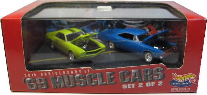 Hot Wheels 100% - Collector Set - ´69 Muscle Cars 2/2  - Hobby Lobby CollectorStore