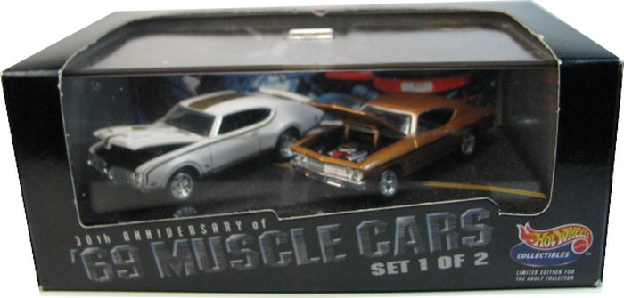 Hot Wheels 100% - Collector Set - ´69 Muscle Cars 1/2  - Hobby Lobby CollectorStore