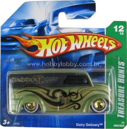 Hot Wheels - Coleção 2006 - Dairy Delivery  - Hobby Lobby CollectorStore