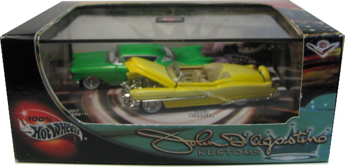 Hot Wheels 100% - Collector Set - John D´Agostino Kustoms  - Hobby Lobby CollectorStore