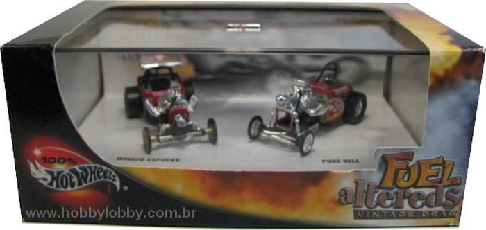 Hot Wheels 100% - Collector Set - Fuel Altereds - Vintage Drag
