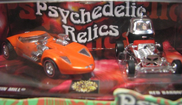 Hot Wheels 100% - Collector Set - Psychedelic Relics  - Hobby Lobby CollectorStore