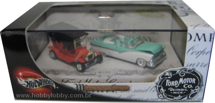 Hot Wheels 100% - Collector Set - Fabulous Ford