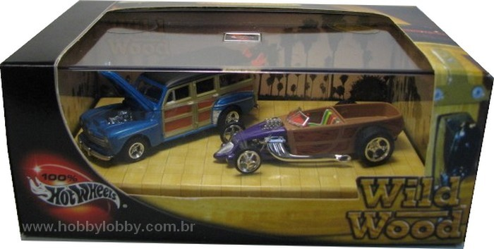 Hot Wheels 100% - Collector Set - Wild Wood