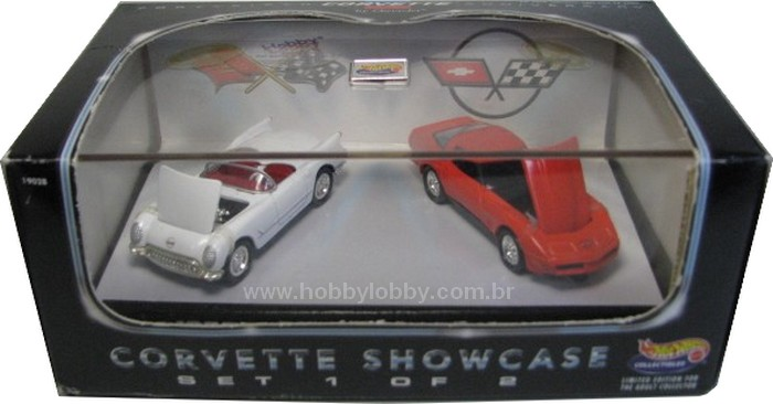 Hot Wheels 100% - Collector Set - Corvette Showcase 1/2